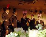 結婚式3つをハシゴ