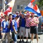ドイツW杯現地レポート 運命のクロアチア戦
