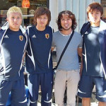 ビクトリアで日本代表選手に会いました