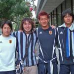 今日もビクトリアでU-20日本代表選手に遭遇