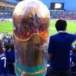 W杯アジア予選 北朝鮮戦現地レポ 初戦の難しさってのは、ゴール裏も一緒なんです。
