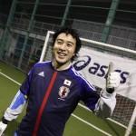 蹴り初めで日本代表の新ユニデビュー