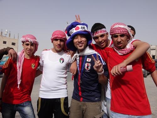 ヨルダン戦