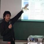 帰国後に2日連続で講演会を行いました。