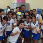 クイアバの小学校にサッカーボールを寄付してきました。