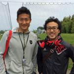 帰省中にコンサドーレ札幌の試合と練習を観てきました。