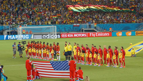 ガーナ対アメリカ