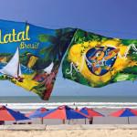 ナタールでビーチを堪能したり、チャリティーしたり、決起集会に参加したり。