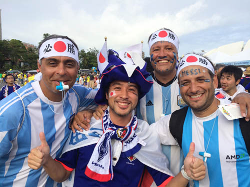 日本対ギリシャ