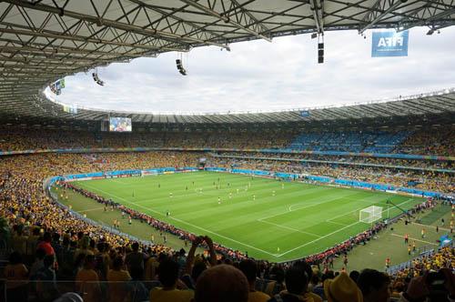 W杯ブラジル対ドイツ