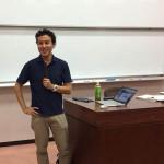 信州大学で特別講義を行ってきました。