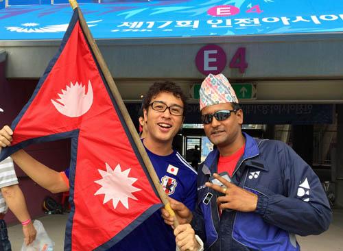 日本対ネパール