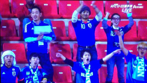 U-22アジアカップ イラン戦