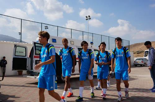 U-21日本代表 練習