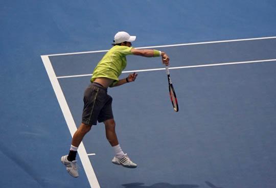 全豪オープン1回戦