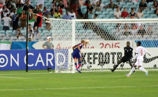 アジアカップ準々決勝