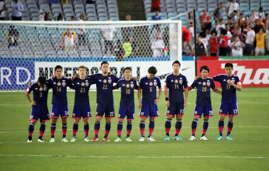 日本対UAE PK戦
