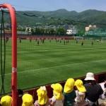 コンサドーレ札幌の練習を見学して、ある選手の変化に気付きました。