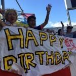 エクアドル戦 なでしこ1-0勝利でC組1位通過決定 鮫島彩の誕生日を皆で祝いました!