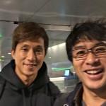 福西崇史氏と帰国便でバッタリ遭遇しました!