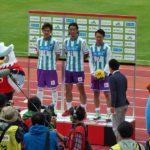 5年振りの函館開催 札幌は5-2で横浜FCに勝利 J2首位で前半戦を折り返す