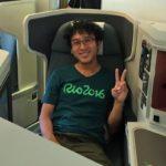 ブラジル24泊28日旅から無事生還しました! 帰国便がビジネスクラスに!