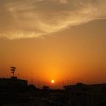 ファイナル前日練習の模様とバーレーンの夕陽シリーズをまとめました