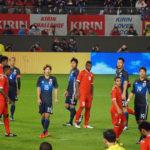 オマーン相手に4-0快勝 2点を決めたワントップ大迫が日本の救世主となるか?