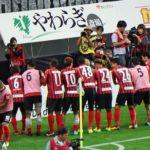 札幌2-1磐田 コンサドーレは2001年10月17日以来5,806日振りのJ1連勝を達成!