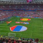 W杯ホスト国ロシアが強豪スペインに勝つとスタジアムはどうなるのか?