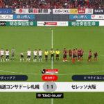 札幌1-1C大阪 コンサドーレの出場14選手を評価してみた