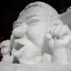 さっぽろ雪まつりでコンサドーレの選手の雪像が建てられたのはあの選手以来9年振り