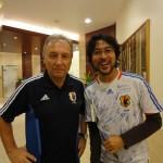 アジアカップ優勝翌日、日本代表に突撃してみた。