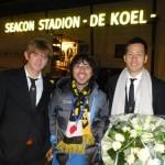 吉田麻也とカレンロバートが揃って出場したVVVフェンロの試合を観てきました。